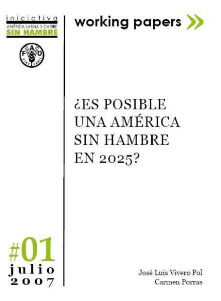 ¿Es posible una América Sin Hambre en 2025?