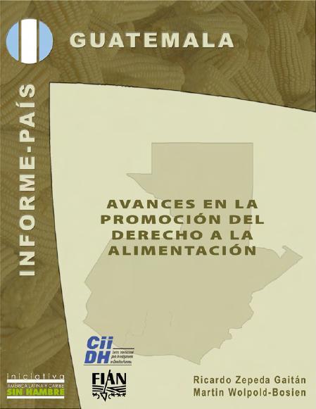Avances en la promoción del Derecho a la Alimentación en Guatemala