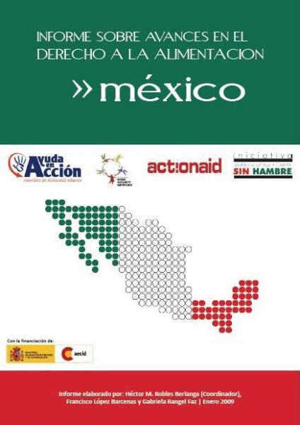 Informe sobre avances en el derecho a la alimentación en México