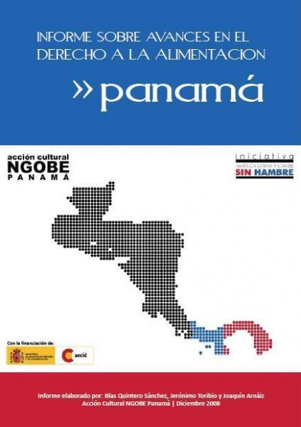 Informe sobre avances en el derecho a la alimentación en Panamá