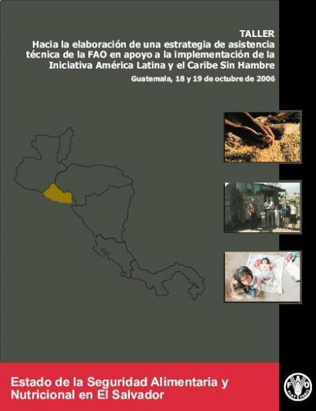Estado de la Seguridad Alimentaria y Nutricional de El Salvador