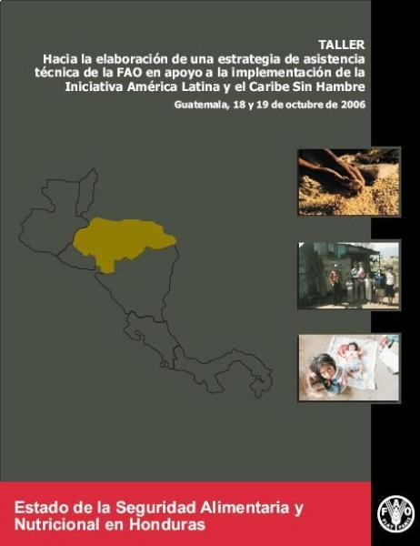 Estado de la Seguridad Alimentaria y Nutricional de Honduras