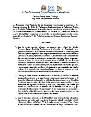 Declaración de Santo Domingo
