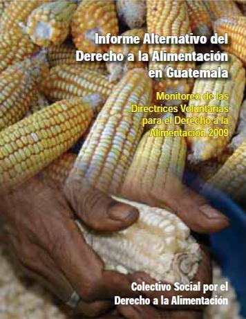 Informe Alternativo del Derecho a la Alimentación en Guatemala.