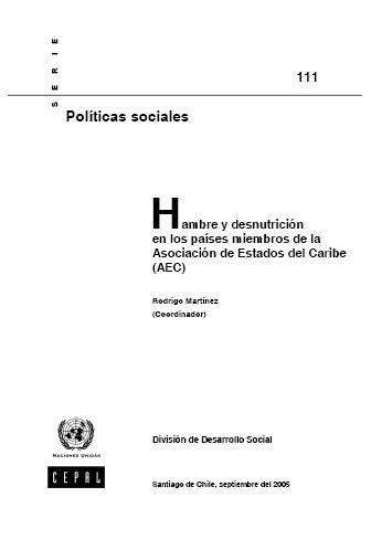 Hambre y desnutrición en los países miembros de la Asociación de Estados del Caribe