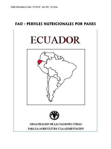 Perfiles Nutricionales por Países: Ecuador