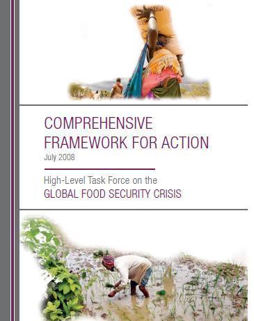 Comprehensive Framework for Action