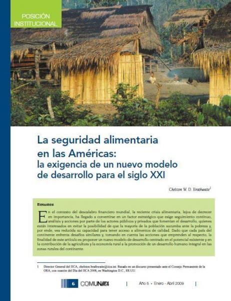 La seguridad alimentaria en las Américas: la exigencia de un nuevo modelo de desarrollo para el siglo XXI