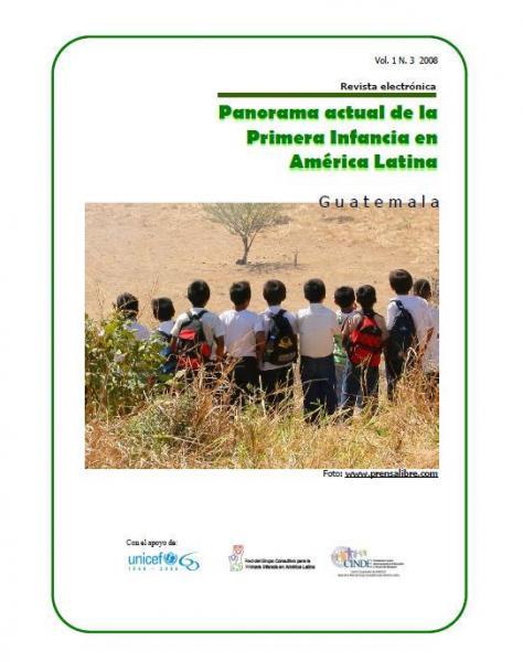 Panorama actual de la Primera Infancia en América Latina: Guatemala