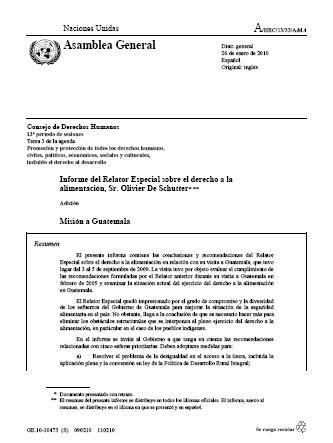Misión a Guatemala