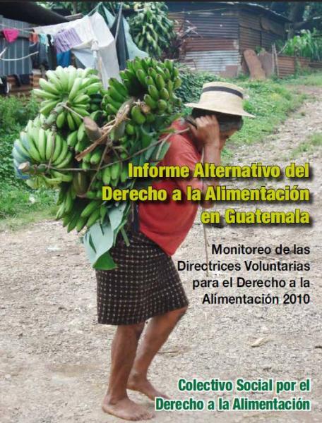 Informe Alternativo del Derecho a la Alimentación en Guatemala Monitoreo de las Directrices Voluntarias para el Derecho a la Alimentación 2010