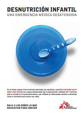 Desnutrición Infantil: Una emergencia médica desatendida.