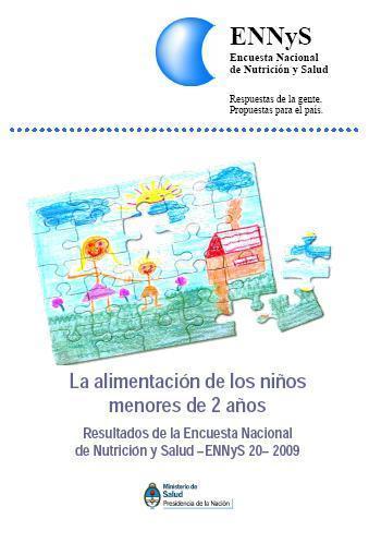 Encuesta Nacional de Nutrición y Salud de Argentina: Documentos de Resultados 2007