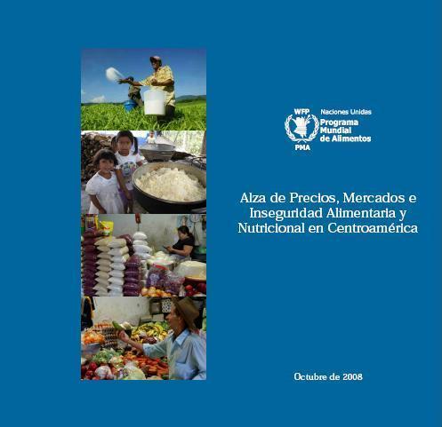 Alza de precios, mercados e inseguridad alimentaria y nutricional en Centroamérica