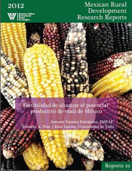 Factibilidad de alcanzar el potencial productivo de maíz de México