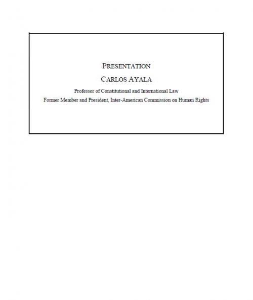 Las consecuencias de la jerarquía constitucional de los tratados relativos a derechos humanos