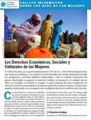 Los Derechos Económicos, Sociales y Culturales de las Mujeres
