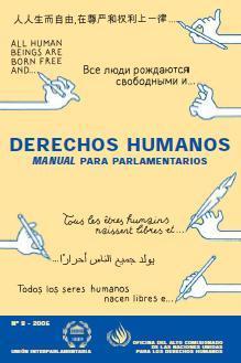 Derechos Humanos: manual para parlamentarios
